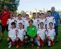 Mannschaftsfoto - D3 -Junioren - Saison 2016/17