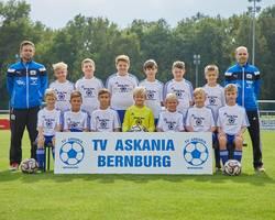 Mannschaftsfoto - D2-Junioren - Saison 2017/18