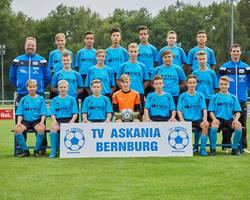 Mannschaftsfoto - C1-Junioren - Saison 2017/18