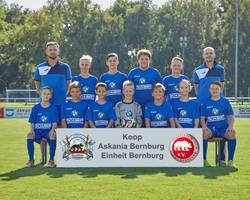 Mannschaftsfoto - D2-Junioren - Saison 2018/19