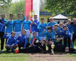 C1-Junioren: Souveräner Kreispokalsieg